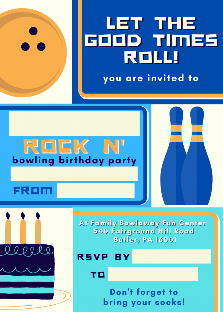 Download the Rock N Bowl invitation