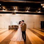 Open floor plan for wedding